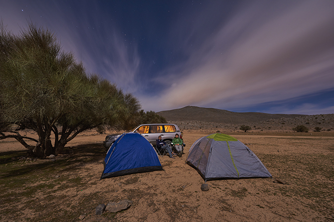 Explorer   Top tips for camping in the UAE